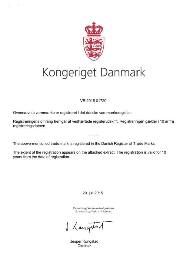 Patent Denmark