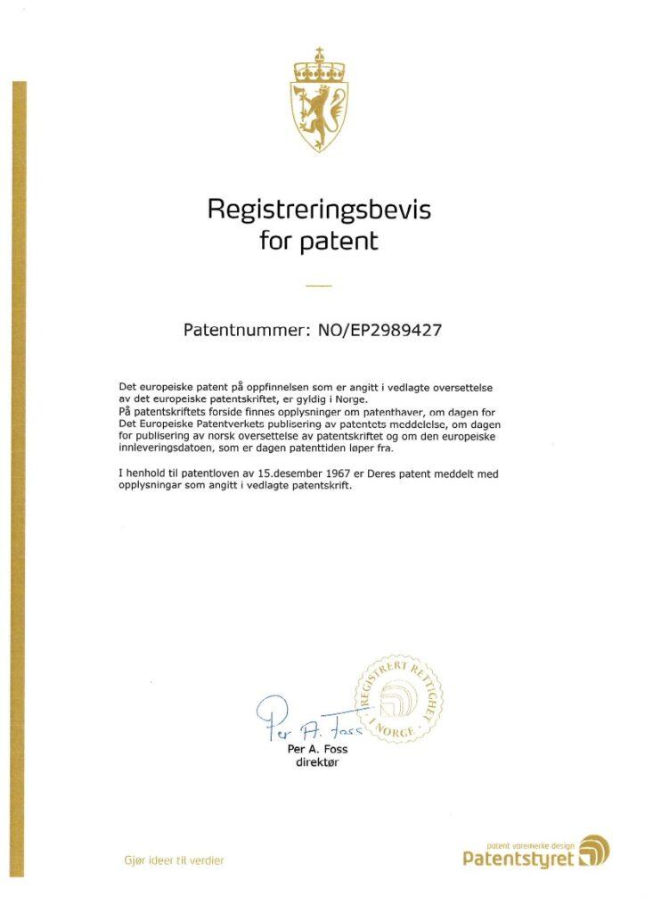 Patent Norway